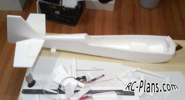 free plans rc model EDGE 540