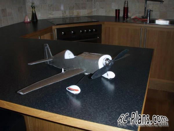Mini Extra. Free plans rc aircraft