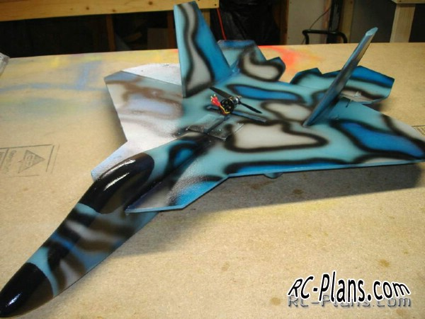rc plans f-22 raptor