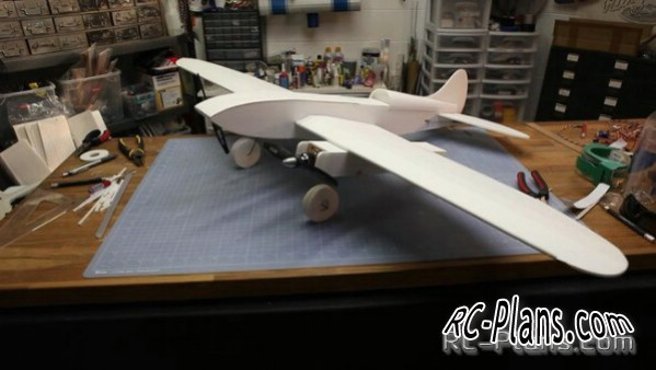 Free plans of RC model ft cruiser