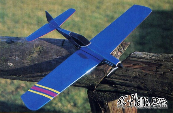 Smal rc airplane Jaguar 180