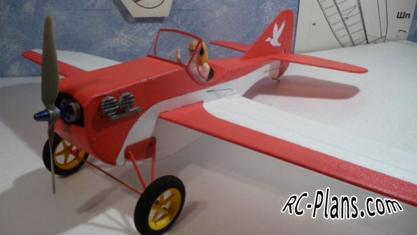 plans rc airplane lisa
