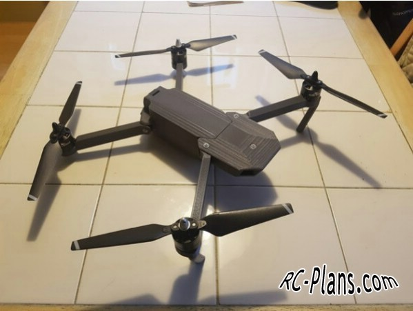 free plans for dji mavic pro clone