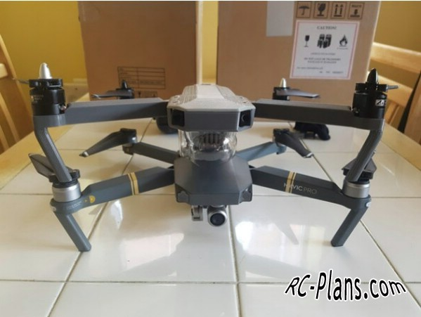 download plans for dji mavic pro clone