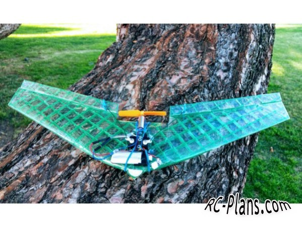 Micro Flying Wing — RC Plans