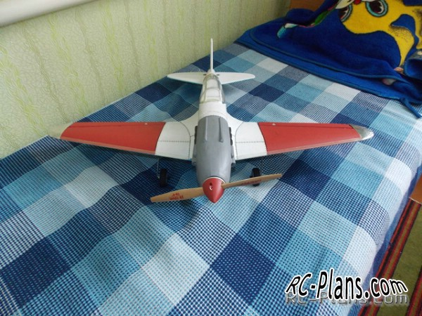 plans rc model mig-3