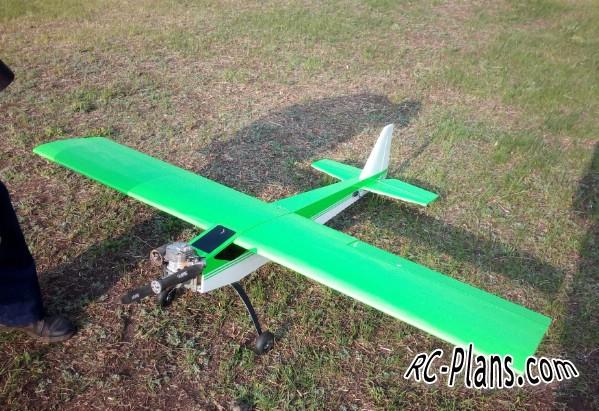 Plans for balsa airplane Minimal