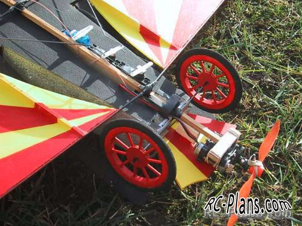 plans rc model Chitty Chitty Bang Bang
