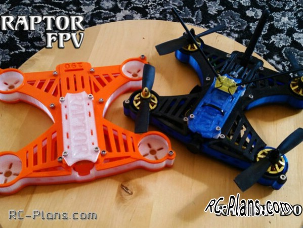 Free quadcopters plans