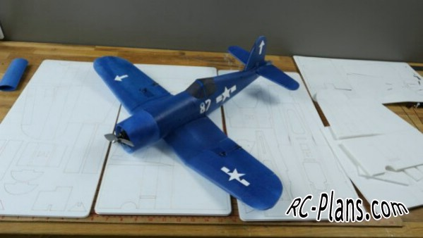 plans RC Corsair