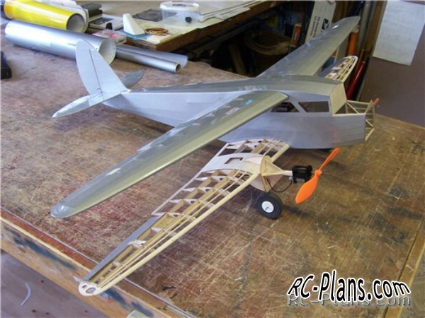 rc plans  D.H.89a DRAGON RAPIDE SCALE AEROMODEL