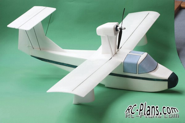 Free plans foam airplane thurston teal