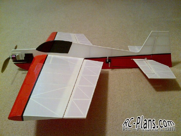 free plans rc aircraft Slick 360-35