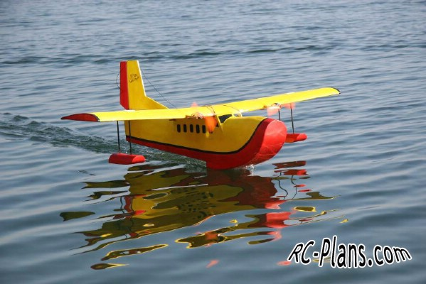 free plan for rc aircraft Puddle Twin