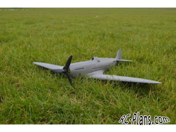 3d printed plans RC airplane Spitfire