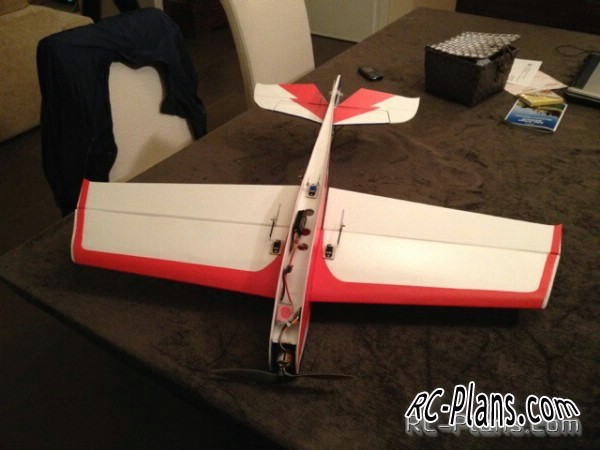 Plans RC Airplane Ultron3D