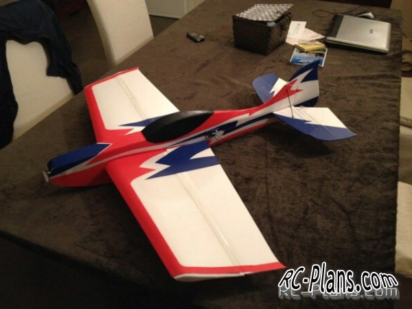 Plans RC Airplane Ultron 3D