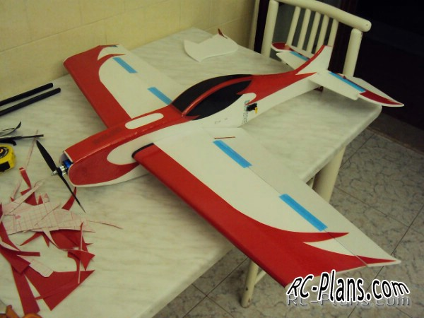 Plans 3D RC Airplane Ultron