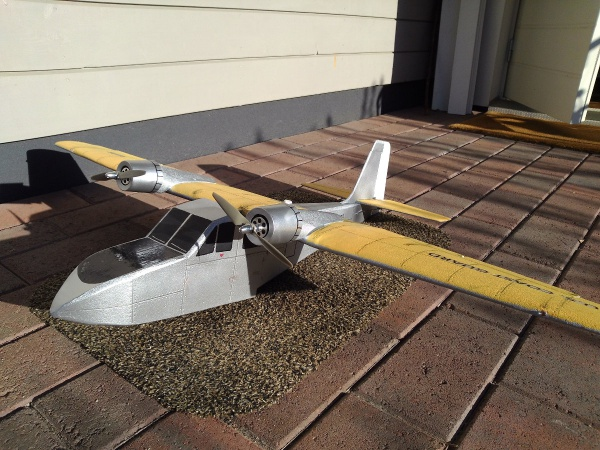 RC airplane plans Puddle Twins